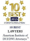 10 Best Lawyers American Institute of DUI/DWI Attorneys Florida